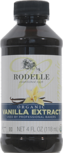 Seasonings, Rodelle® Organic Pure Vanilla Extract (4 oz Bottle)