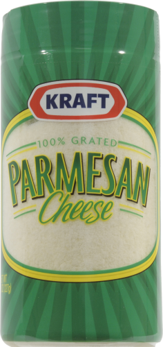Grated Cheese, Kraft® Grated Parmesan Cheese (8 oz Jar)