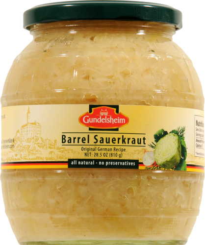 Sauerkraut, Barrel® Sauerkraut (28 oz Jar)