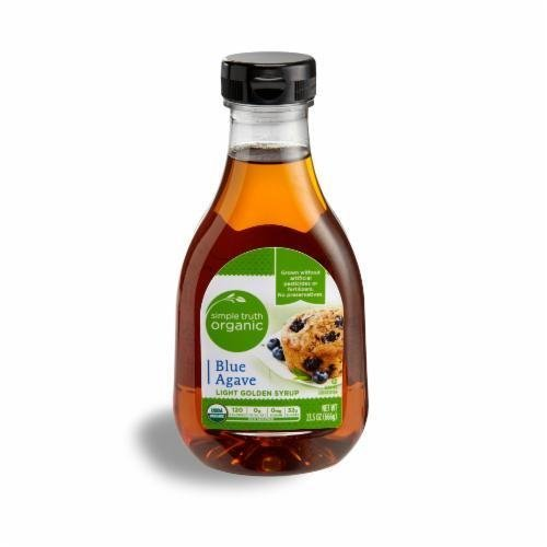 Organic Agave, Simple Truth Organic™ Blue Agave Light Golden Syrup (23.5 oz Bottle)