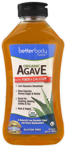 Agave, BetterBody Foods® Xagave Organic Agave Nectar (23.5 Oz Bottle)