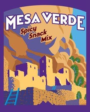 Snack, Rocky Mountain Treats® Mesa Verde™ Spicy Snack Mix (6.5 oz Bag)