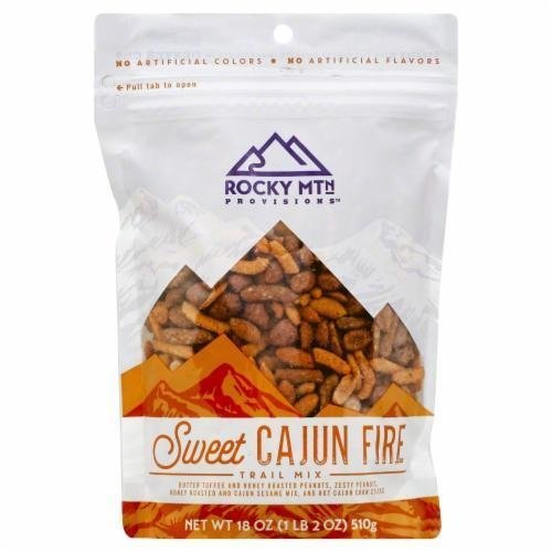 Snack, Rocky Mountain Provisions® Sweet Cajun Fire™ Trail Mix (18 oz Bag)