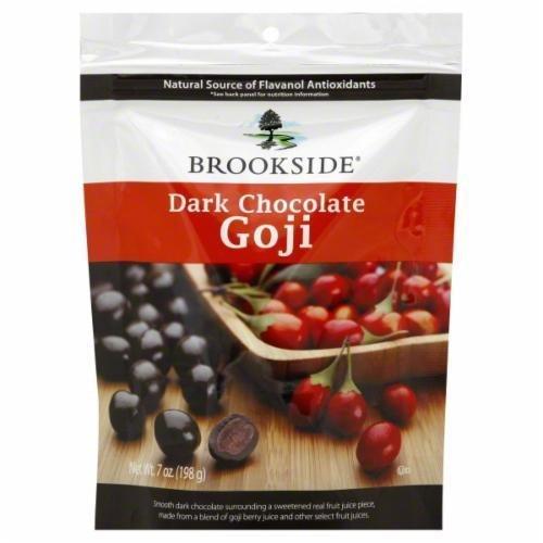 Raspberries, Brookside® Dark Chocolate Goji Raspberry (7 oz Bag)