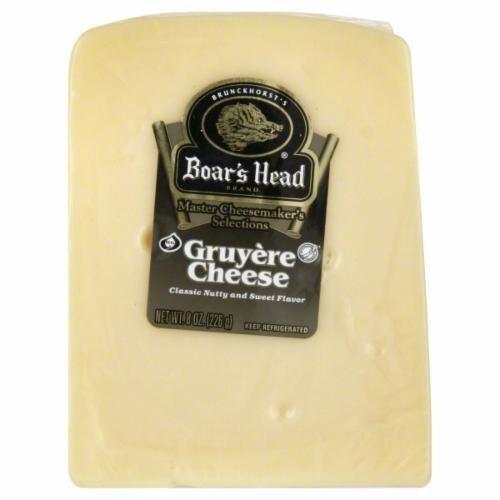 Deli Cheese, Boar's Head® Gruyere Cheese (8 oz Bag)
