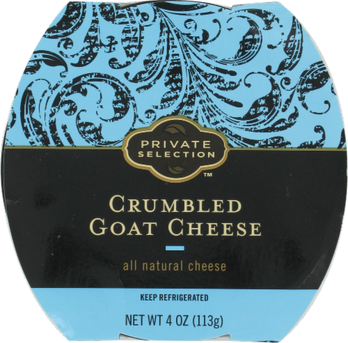 Crumbled Cheese, Private Selection® Crumbled Goat Cheese (4 oz Tray)