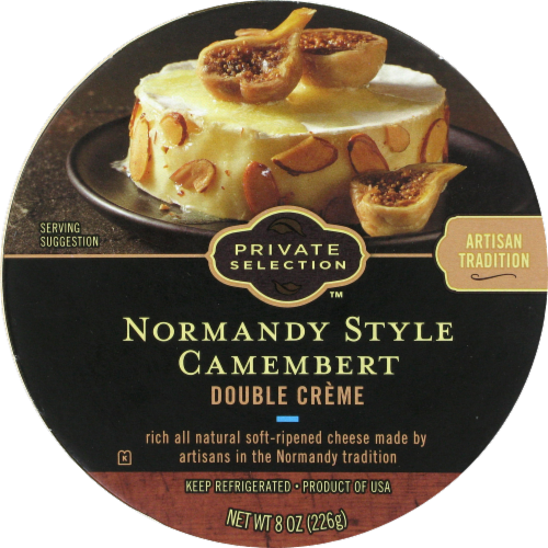 Cheese, Private Selection® Normandy Style Camembert Cheese (8 oz Tray)