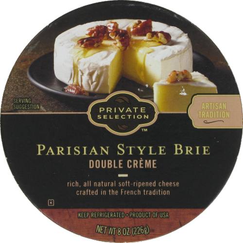 Cheese, Private Selection®  Parisian Style Brie Cheese (8 oz Tray)