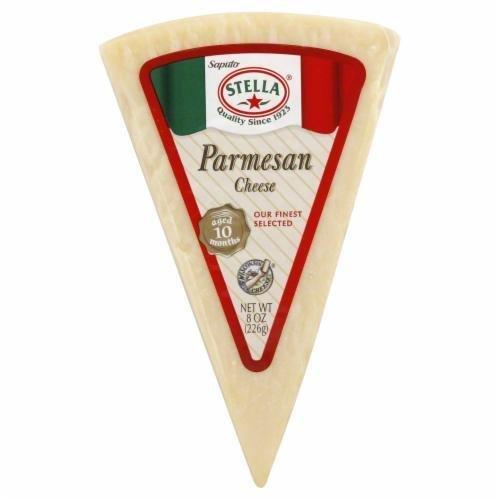 Cheese, Stella® Parmesan Cheese Wedge (8 oz Wedge)