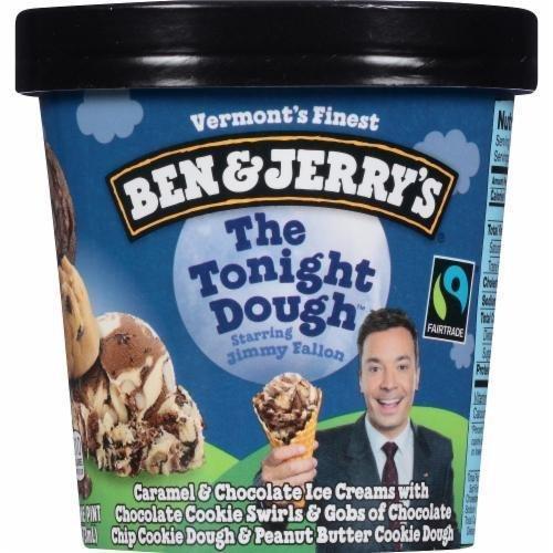 Ice Cream, Ben & Jerry's® The Tonight Dough Ice Cream (1 Pint, 16 oz Cup)