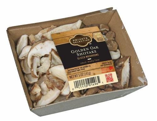 Fresh Mushrooms, Private Selection® Sliced Golden Oak Shitake Mushrooms (5 oz Tray)