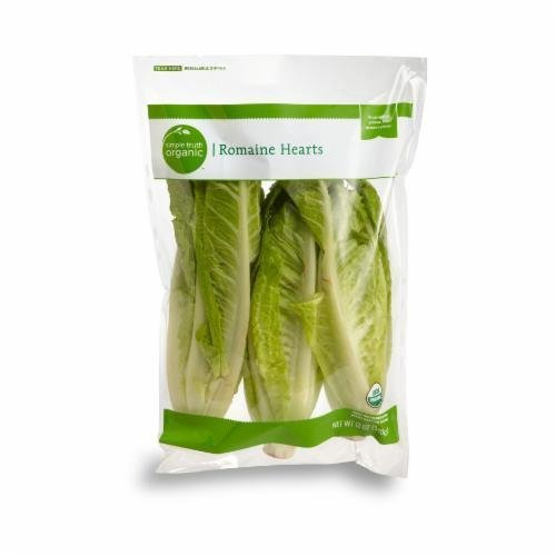 Fresh Salad Greens, Simple Truth Organic™ Romaine Hearts (Bag of 3)