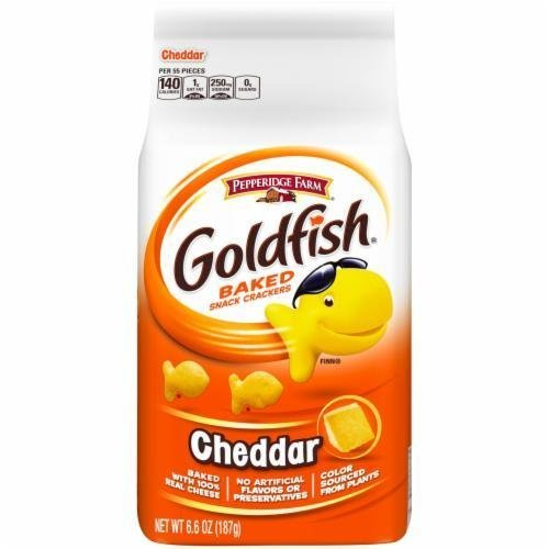 Goldfish Crackers, Pepperidge Farm® Goldfish® Cheddar Crackers (6.6 oz Bag)