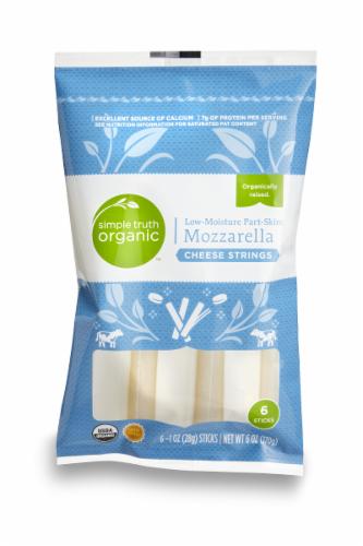 String Cheese, Simple Truth™ Mozzarella String Cheese (6 oz Bag)