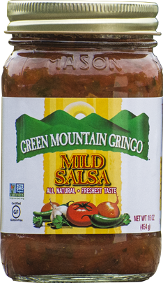 Salsa, Green Mountain Gringo® Mild Salsa (16 oz Jar)