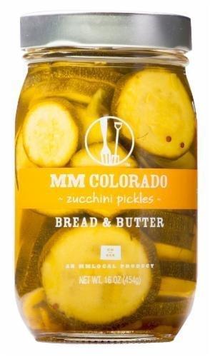 Preserved Zucchini, MM Colorado® Bread & Butter Zucchini Pickles (16 oz Jar)