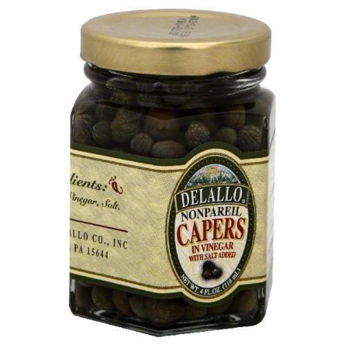 Capers, DeLallo® Non-Pareil Capers (4 oz Jar)
