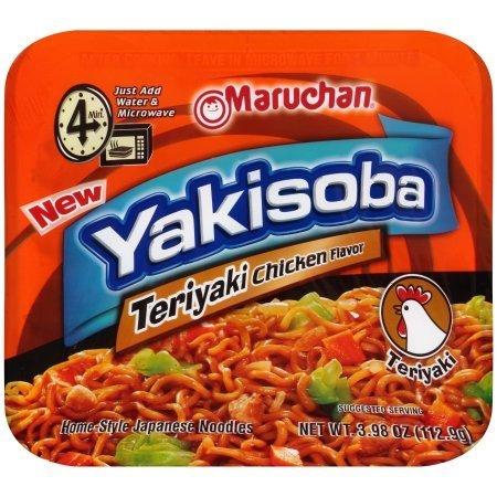 Yakisoba, Maruchan® Yakisoba Teriyaki Chicken (3.98 oz Tray)