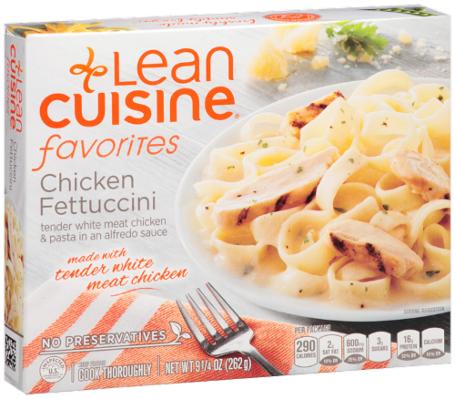 Frozen Dinner, Lean Cuisine® Favorites™ Chicken Fettuccine (9.25 oz Box)