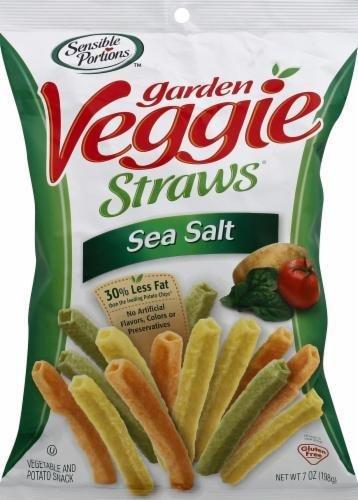Chips, Sensible Portions® Garden Veggie Straws with Sea Salt (7 oz Bag)
