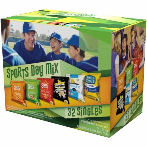 "Lunch Size Chips, Frito-Lay® ""2Go Sports Day Mix"" (32 Bag Count, 26 oz Box)"