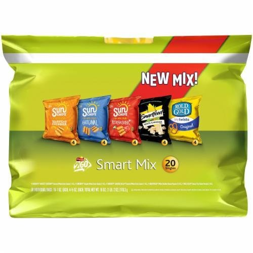 "Lunch Size Chips, Frito-Lay® ""2Go Smart Mix"" (20 Bag Count, 20 oz Bag)"