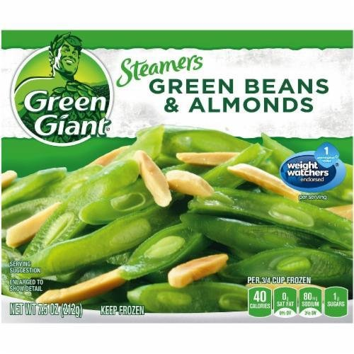 Frozen Green Beans, Green Giant® Green Beans & Almonds (7.5 oz Bag)