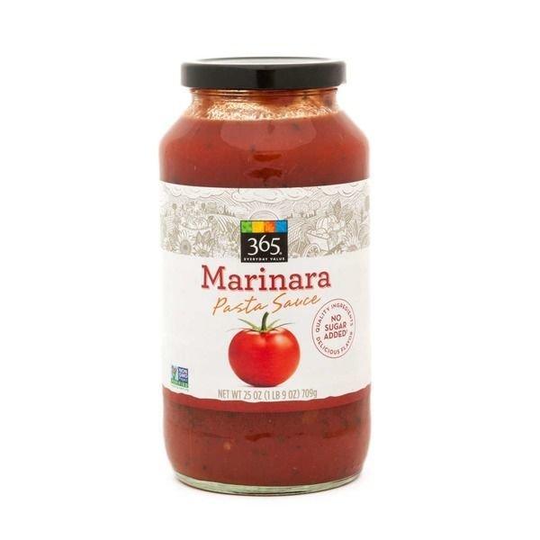 Marinara Pasta Sauce, 365® Marinara Pasta Sauce (25 oz Jar)