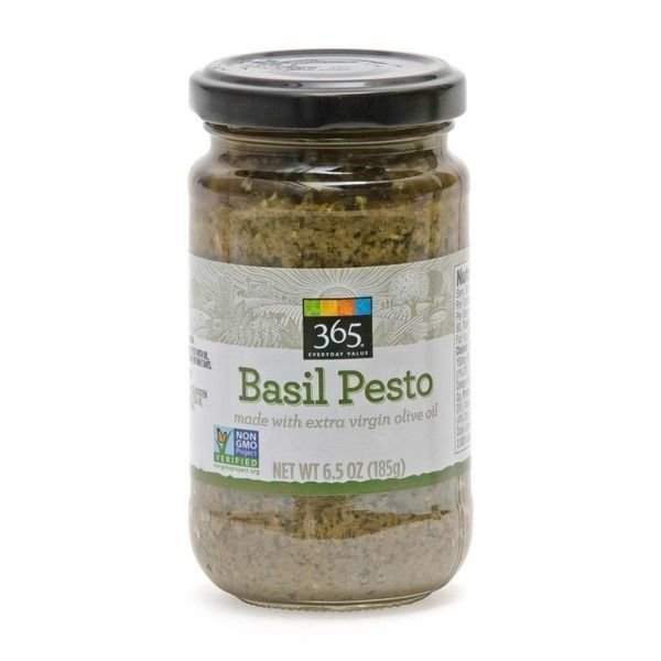 Pasta Sauce, 365® Organic Basil Pesto Sauce (6.5 oz Jar)