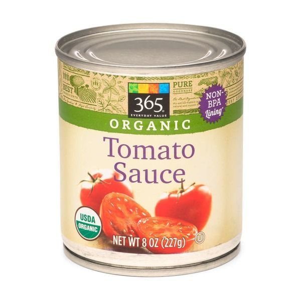 Canned Tomato, 365® Organic Tomato Sauce (8 oz Can)