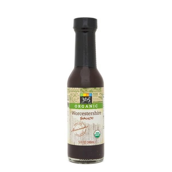 Soy Sauce, 365® Organic Worcestershire Sauce (5 oz Bottle)
