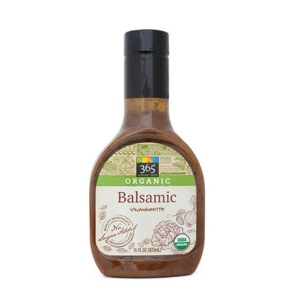 Organic Salad Dressing, 365® Organic Balsamic Vinaigrette Dressing (16 oz Bottle)