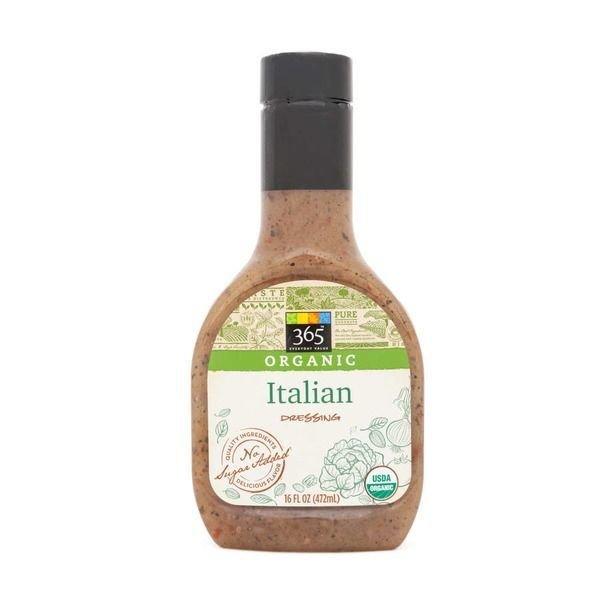 Organic Salad Dressing, 365® Organic Italian Dressing (16 oz Bottle)