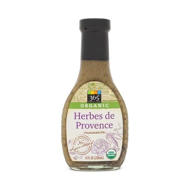 Organic Salad Dressing, 365® Organic Herbes De Provence Dressing (8 oz Bottle)