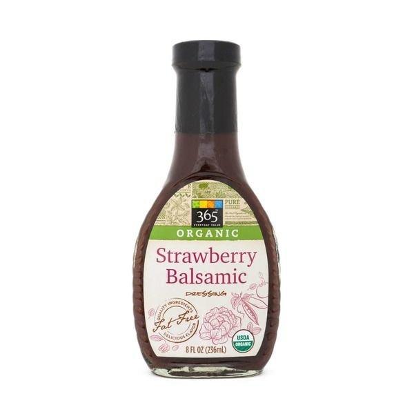 Organic Salad Dressing, 365® Organic Strawberry Balsamic Dressing (8 oz Bottle)