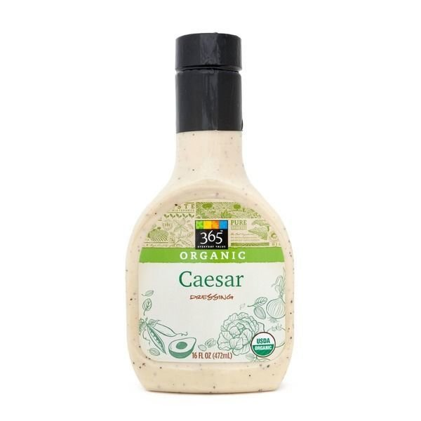 Organic Salad Dressing, 365® Organic Classic Caesar Dressing (16 oz Bottle)
