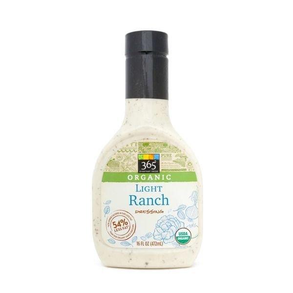 Organic Salad Dressing, 365® Organic Light Ranch Dressing (16 oz Bottle)
