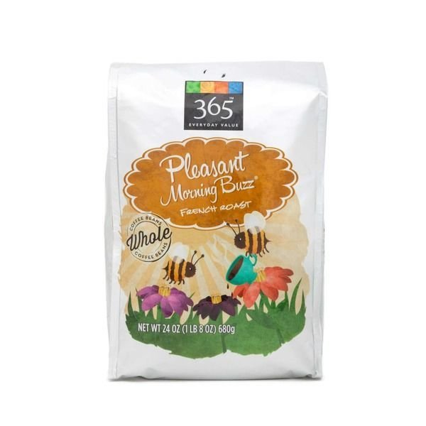 "Ground Coffee, 365® ""Pleasant Morning Buzz"" French Roast Ground Coffee (24 oz Bag)"