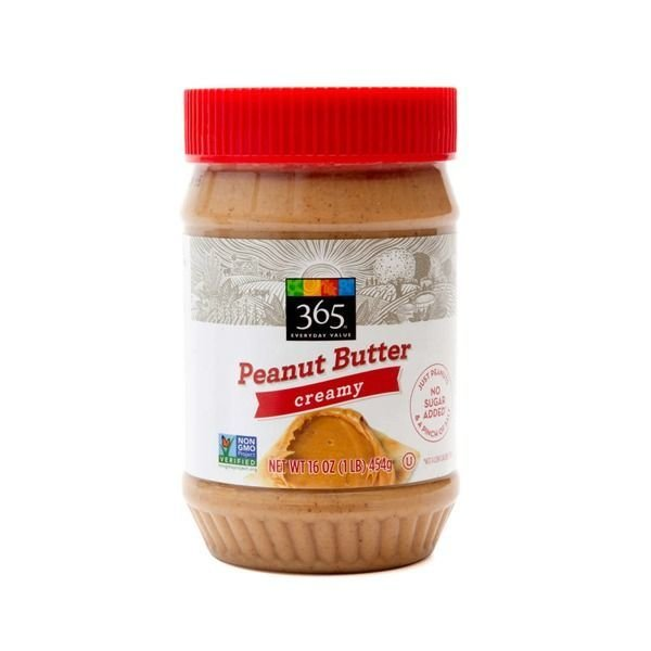 Peanut Butter, 365® Creamy Peanut Butter (16 oz Jar)