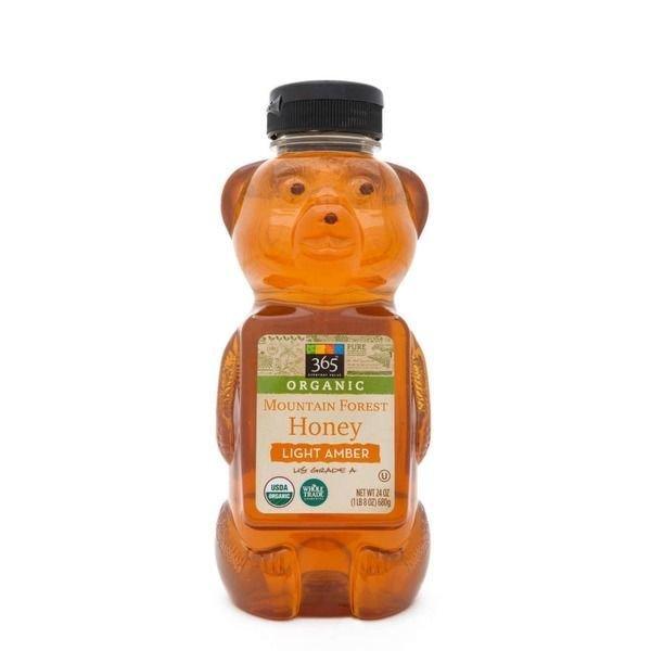 Honey, 365® Organic Mountain Forest Light Amber Honey (24 oz Bottle)
