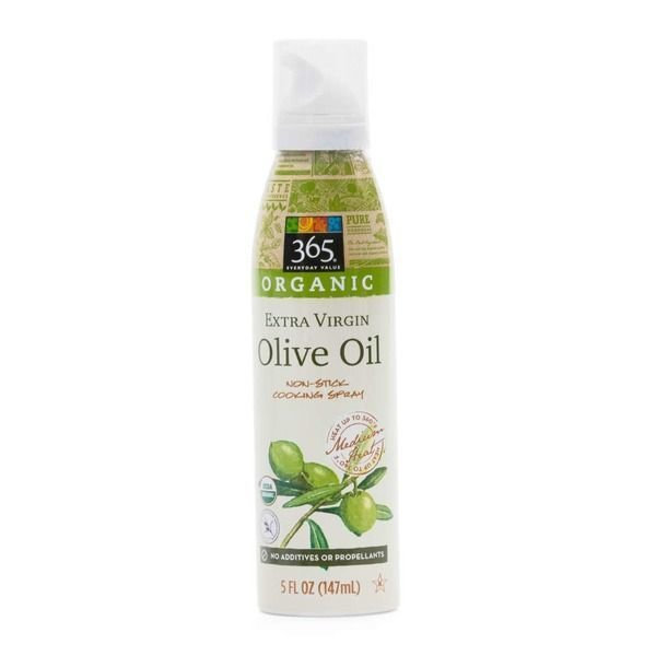 Cooking Spray, 365® Organic Extra Virgin Olive Oil Non-Stick Cooking Spray (5 oz Spray Can)