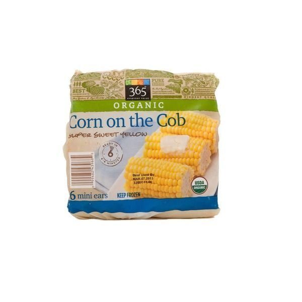Frozen Corn, 365® Organic Mini Corn on the Cob (3 Count Bag)