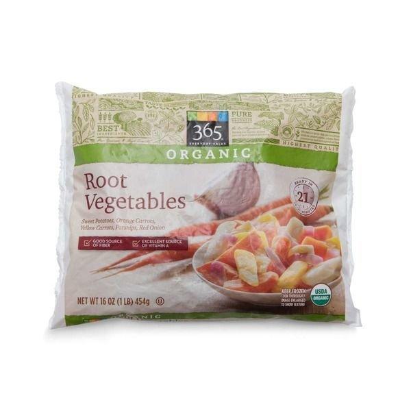 Frozen Vegetables, 365® Organic Root Vegetables (16 oz Bag)