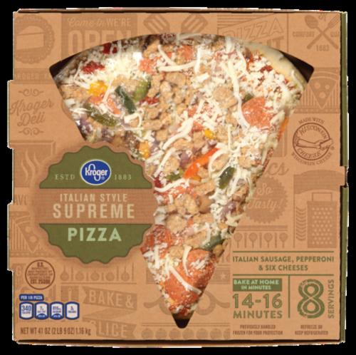 Fresh Pizza, Kroger® Fresh Supreme Pizza (41 oz Box)