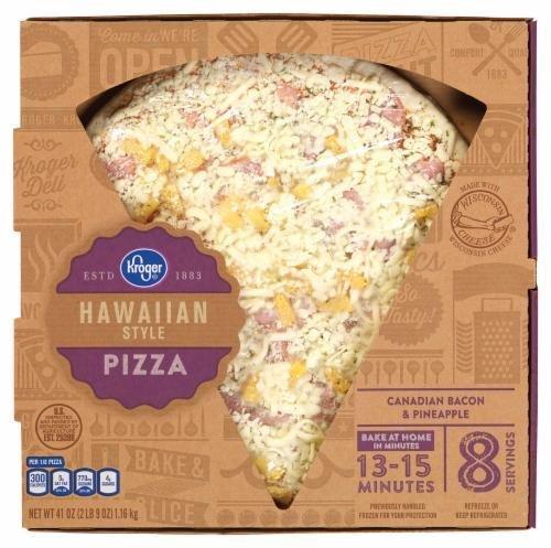 Fresh Pizza, Kroger® Fresh Hawaiian Style Pizza (41 oz Box)