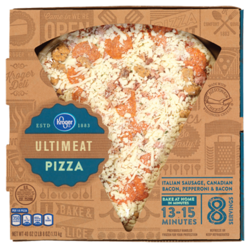 Fresh Pizza, Kroger® Fresh Ultimeat Pizza (40 oz Box)