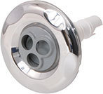 Waterway Jet Internal 5 Scallop 3″ Diameter Stainless Steel Mini Pulse Massage