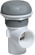 Waterway Valves 5-Scallop 1″  Vertical – Single Port On / Off Turn Valves