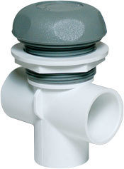 Waterway Valves 5-Scallop 1″ Vertical – Dual Port On / Off Turn Valves