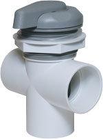 Waterway Valves 5-Scallop 2″ Vertical – 2-Port Top Access Diverter Valves